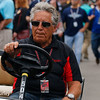 May 2017:  Mario Andretti during practice for the 101st Running of the Indianapolis 500.