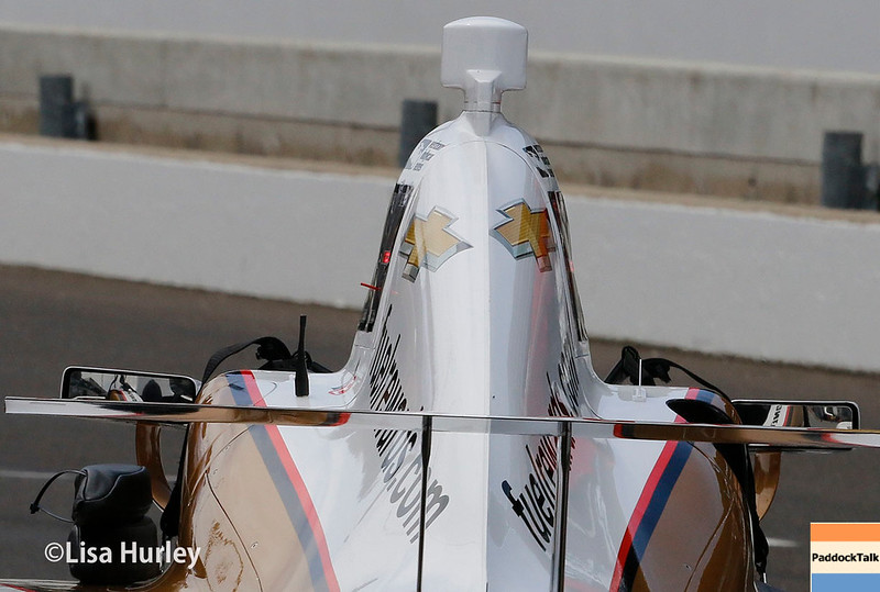 May 2017:  Helio Castroneves during practice for the 101st Running of the Indianapolis 500.