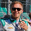 May 2017:  Ed Carpenter during practice for the 101st Running of the Indianapolis 500.