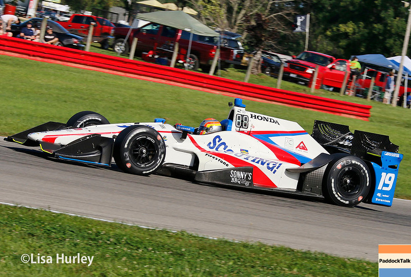 July 29-30: Ed Jones at the Honda Indy 200 at Mid-Ohio.