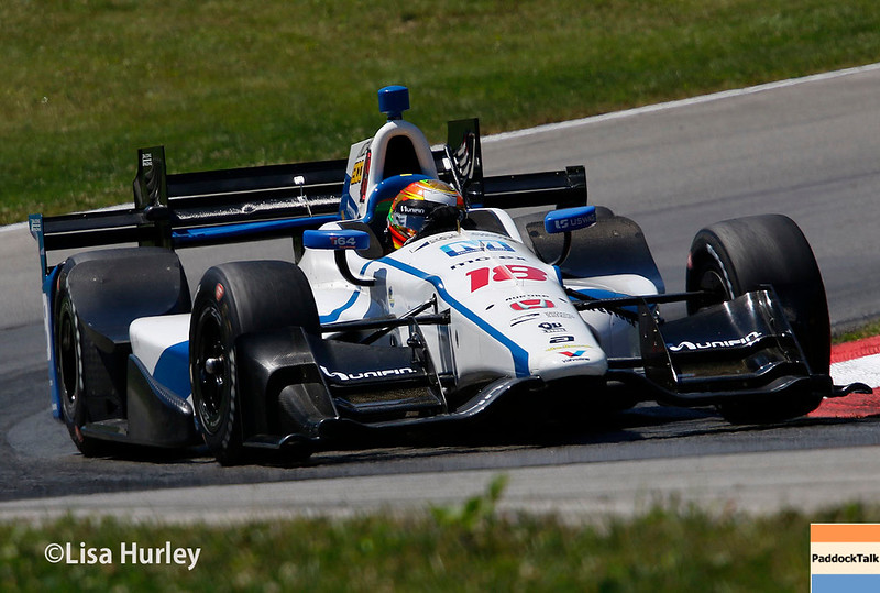 July 29-30: Esteban Gutierrez at the Honda Indy 200 at Mid-Ohio.