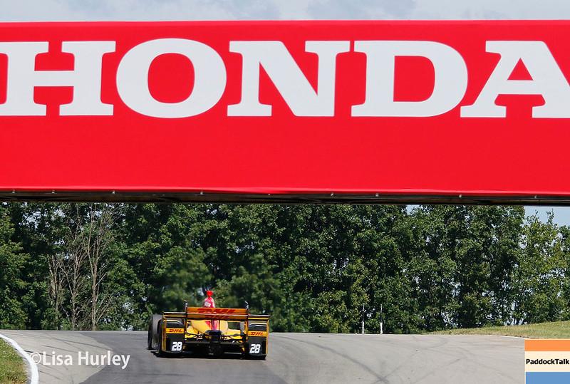 July 29-30: Ryan Hunter-Reay at the Honda Indy 200 at Mid-Ohio.
