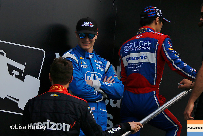 July 29-30: The drivers before the Honda Indy 200 at Mid-Ohio.
