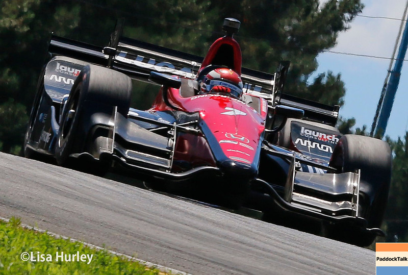 July 29-30: Mikhail Aleshin at the Honda Indy 200 at Mid-Ohio.