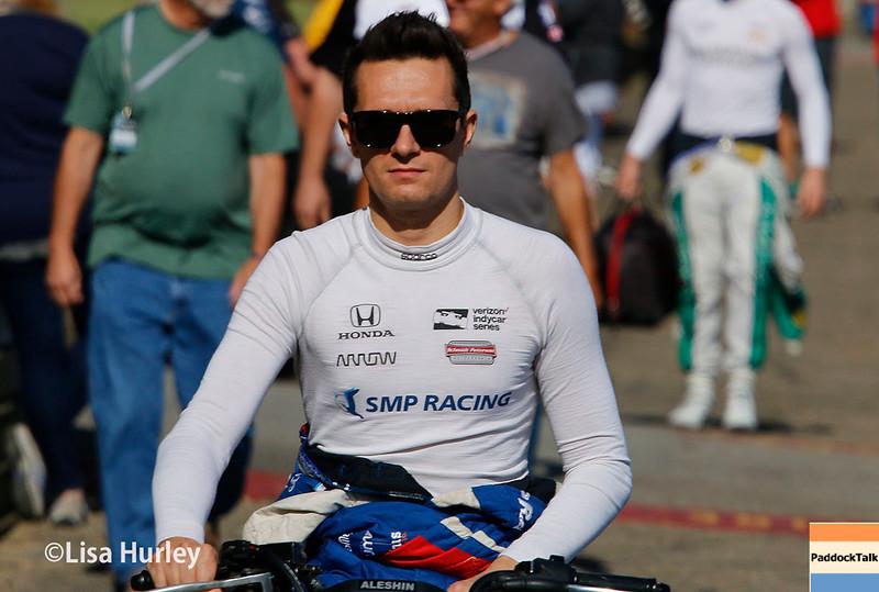 July 29-30: Mikhail Aleshin at the Honda Indy 200 at Mid-Ohio.