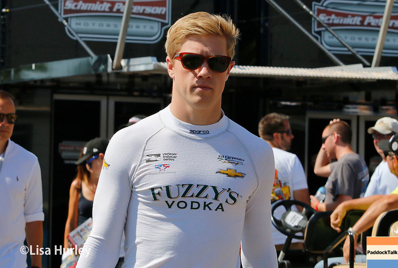 July 29-30: Spencer Pigot at the Honda Indy 200 at Mid-Ohio.