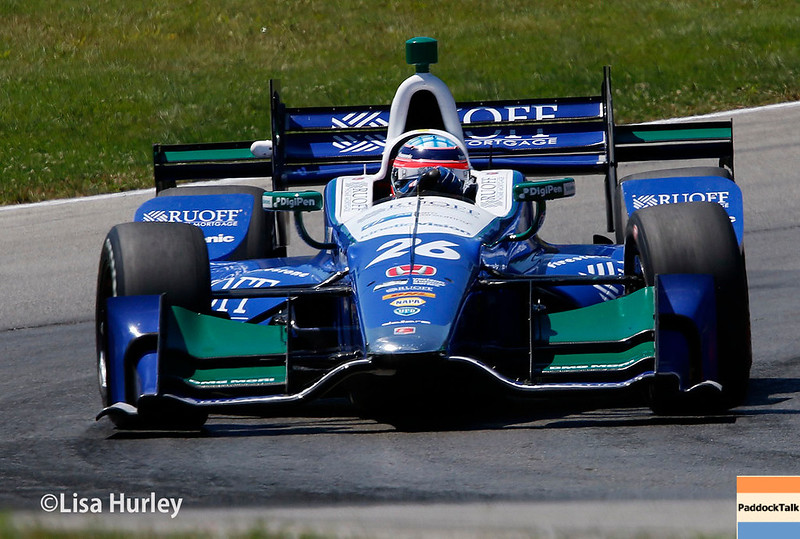 July 29-30: Takuma Sato at the Honda Indy 200 at Mid-Ohio.