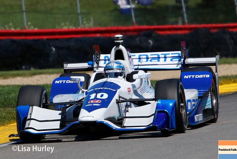 July 29-30: Tony Kanaan at the Honda Indy 200 at Mid-Ohio.