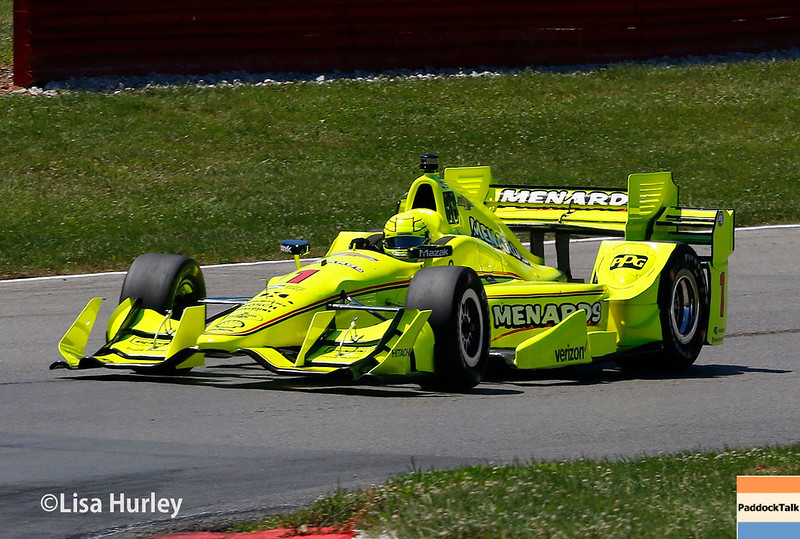 July 29-30: Simon Pagenaud at the Honda Indy 200 at Mid-Ohio.