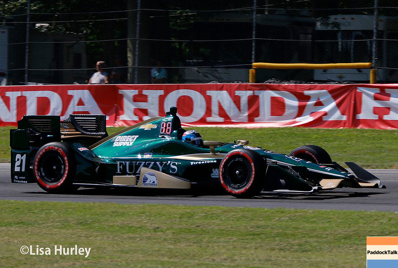 July 29-30: JR Hildebrand at the Honda Indy 200 at Mid-Ohio.