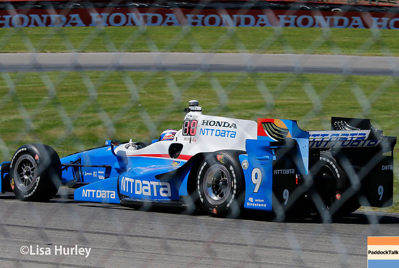 July 29-30: Scott Dixon at the Honda Indy 200 at Mid-Ohio.