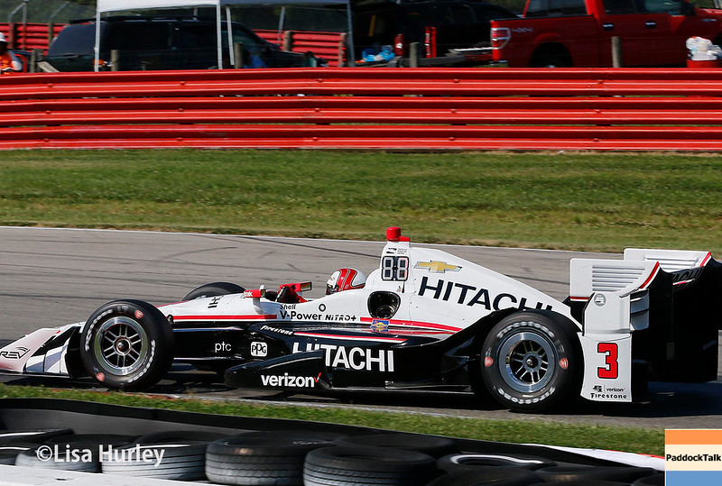 July 29-30: Helio Castroneves at the Honda Indy 200 at Mid-Ohio.
