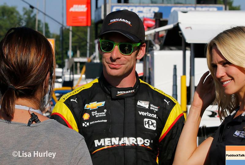 July 29-30: Simon Pagenaud at the Honda Indy 200 at Mid-Ohio.