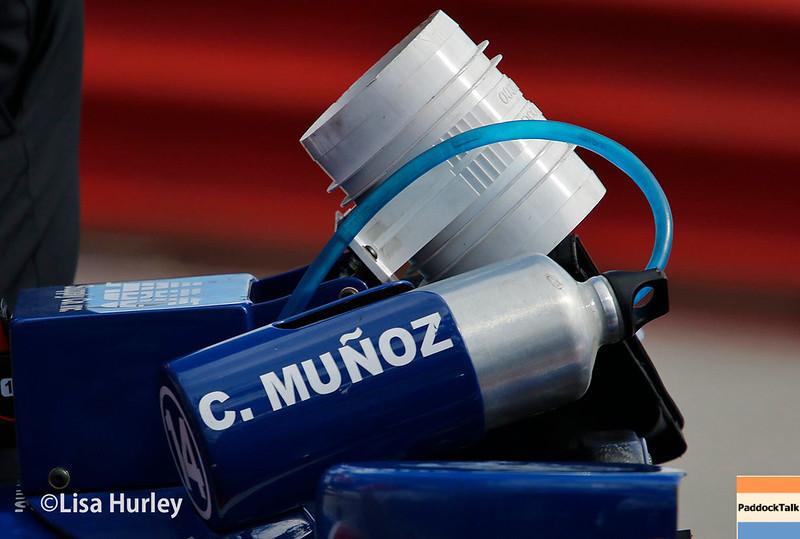 July 29-30: Carlos Munoz's pit at the Honda Indy 200 at Mid-Ohio.
