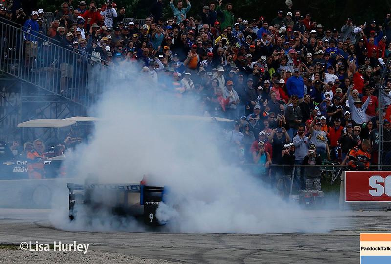 June 24-25: Scott Dixon wins the Kohler Grand Prix of Road America.