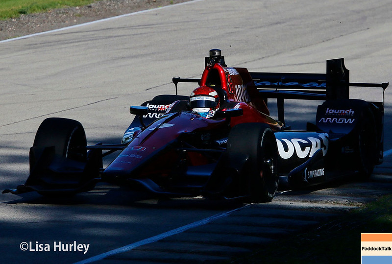 June 24-25: Mikhail Aleshin at the Kohler Grand Prix of Road America.