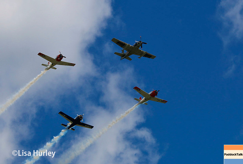 June 24-25: The flyover at the Kohler Grand Prix of Road America.