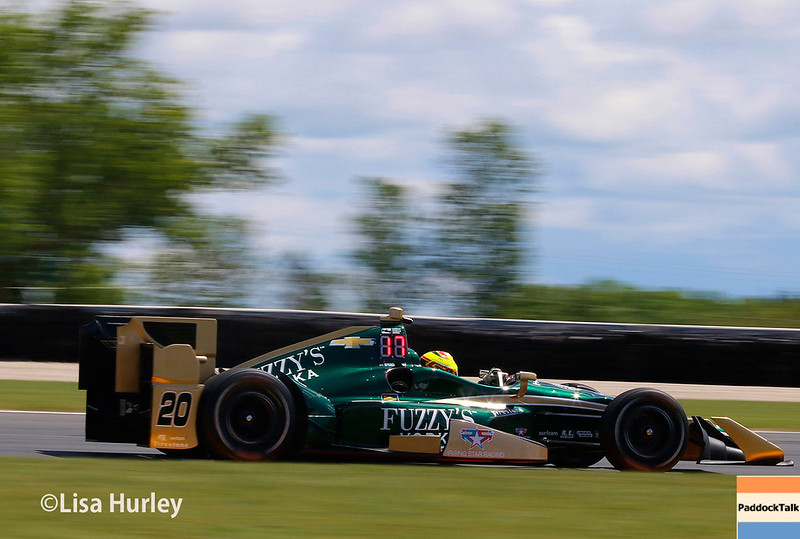 June 24-25: Spencer Pigot at the Kohler Grand Prix of Road America.