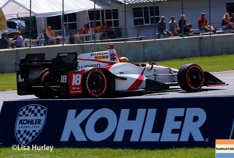 June 24-25: Esteban Gutierrez at the Kohler Grand Prix of Road America.