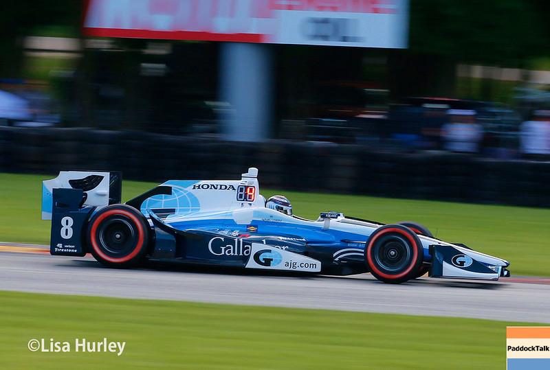 June 24-25: Max Chilton at the Kohler Grand Prix of Road America.