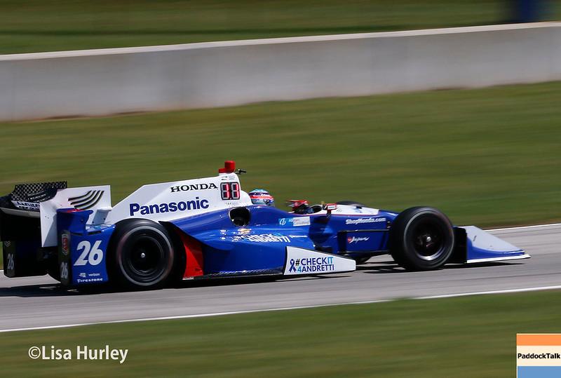 June 24-25: Takuma Sato at the Kohler Grand Prix of Road America.