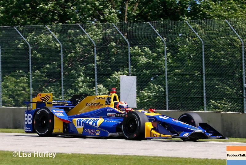 June 24-25: Alexander Rossi at the Kohler Grand Prix of Road America.
