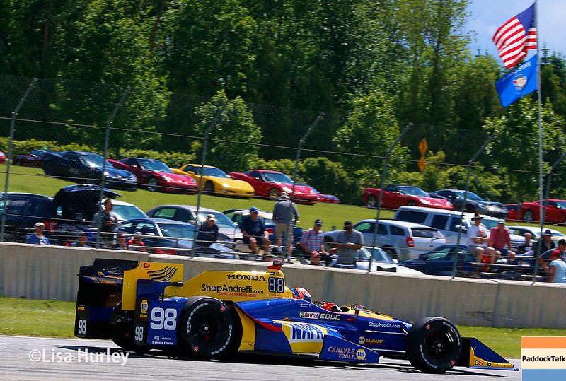 June 24-25: Alexander Rossi at the Kohler Grand Prix of Road America.