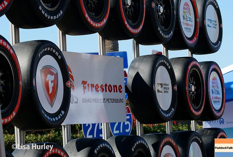 March 10-12: Firestone Tire display at the Firestone Grand Prix of St. Petersburg.