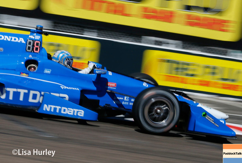 March 10-12: Tony Kanaan at the Firestone Grand Prix of St. Petersburg.