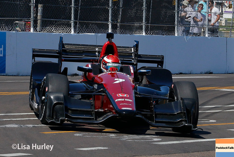March 10-12: Mikhail Aleshin at the Firestone Grand Prix of St. Petersburg.