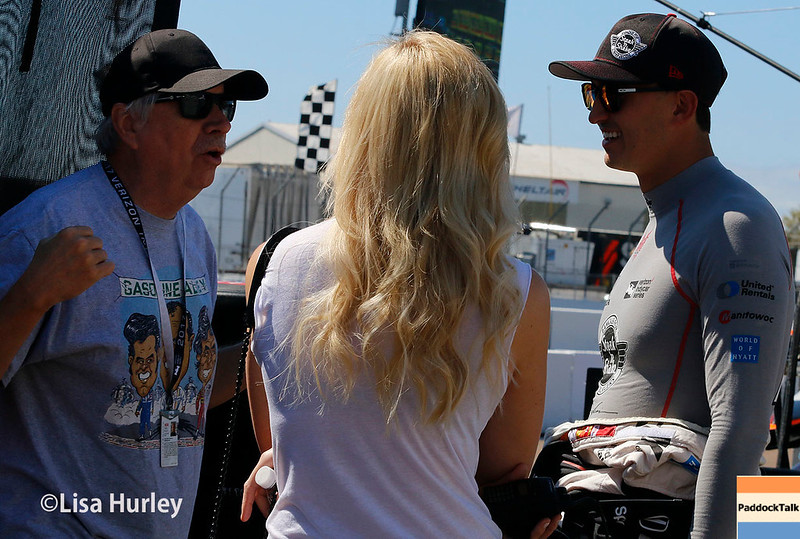 March 10-12: Robin Miller talks with Graham Rahal at the Firestone Grand Prix of St. Petersburg.