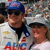 March 10-12:  Conor Daly poses with a fan at the Firestone Grand Prix of St. Petersburg.