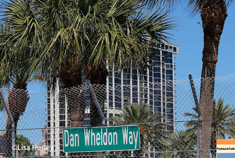 March 10-12:  Dan Wheldon Way at the Firestone Grand Prix of St. Petersburg.