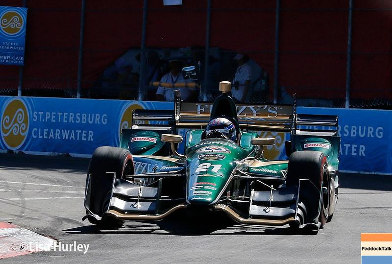 March 10-12: JR Hildebrand at the Firestone Grand Prix of St. Petersburg.