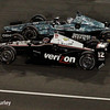 August 30:  Graham Rahal and Will Power during the MAVTV 500 race at Auto Club Speedway.