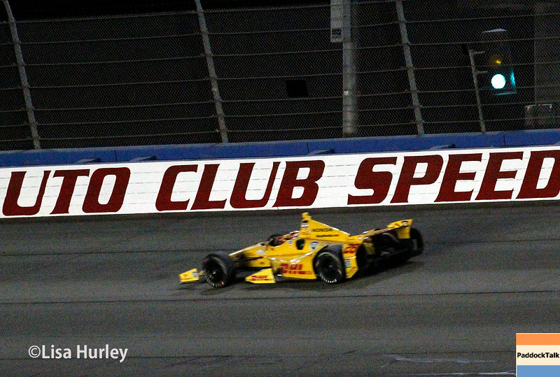 August 30:  Ryan Hunter-Reay during the MAVTV 500 race at Auto Club Speedway.
