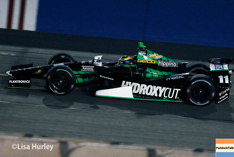 August 30:  Sebastien Bourdais during the MAVTV 500 race at Auto Club Speedway.