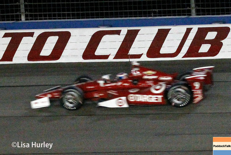 August 30:  Scott Dixon during the MAVTV 500 race at Auto Club Speedway.