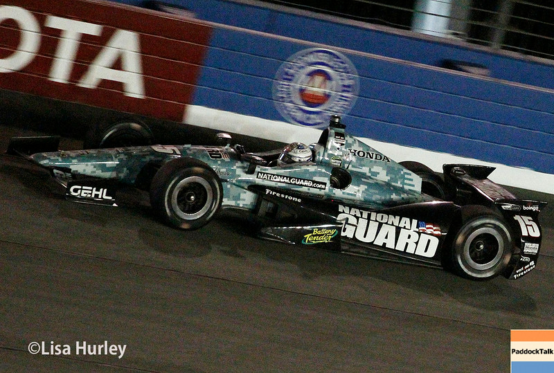 August 30:  Graham Rahal during the MAVTV 500 race at Auto Club Speedway.
