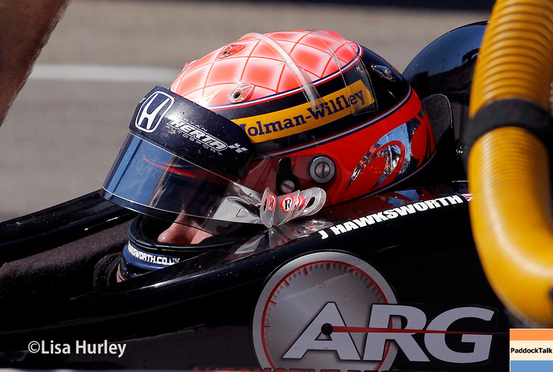 August 29: Jack Hawksworth during MAVTV 500 practice and qualifications at Auto Club Speedway.