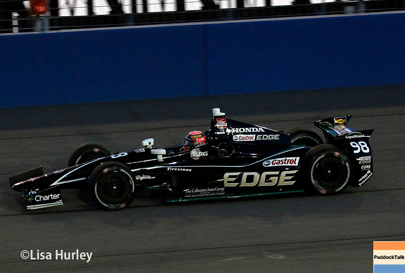 August 30: Jack Hawksworth during the MAVTV 500 race at Auto Club Speedway.