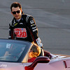 August 30:  Graham Rahal before the MAVTV 500 race at Auto Club Speedway.