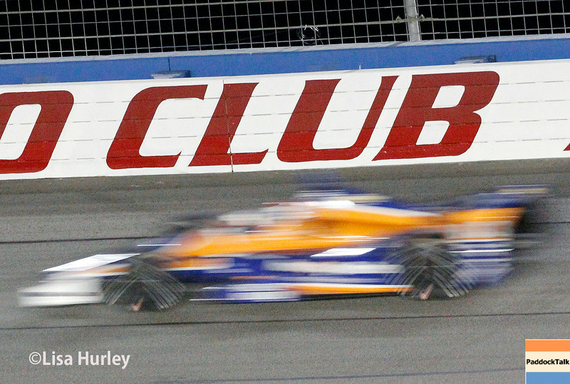 August 30: Charlie Kimball during the MAVTV 500 race at Auto Club Speedway.