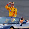 August 30: Ryan Hunter-Reay before the MAVTV 500 race at Auto Club Speedway.
