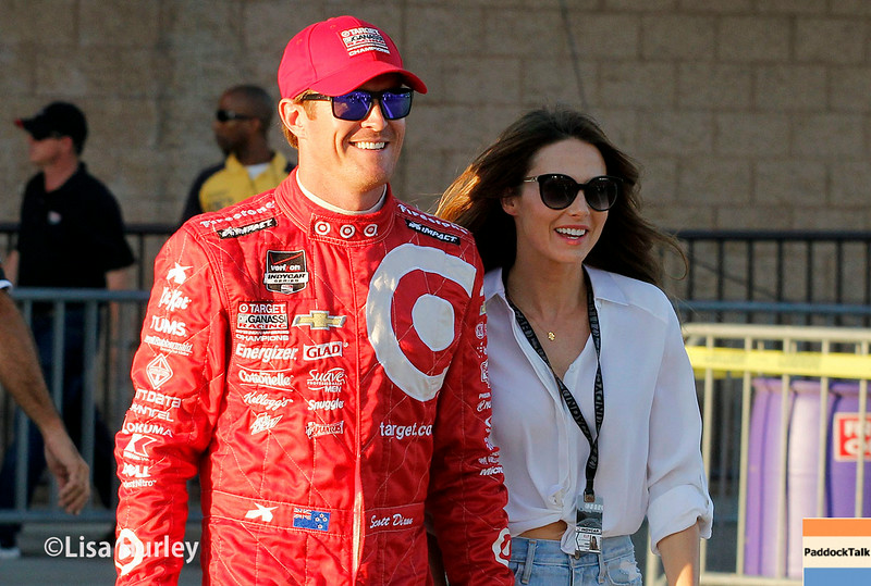 August 30: Scott DIxon before the MAVTV 500 race at Auto Club Speedway.