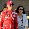 August 30: Scott DIxon before the MAVTV 500 race at Auto Club Speedway.