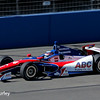 August 29: Takuma Sato during MAVTV 500 practice and qualifications at Auto Club Speedway.