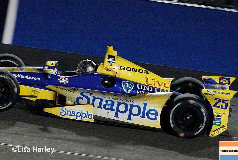 August 30:  Marco Andretti during the MAVTV 500 race at Auto Club Speedway.