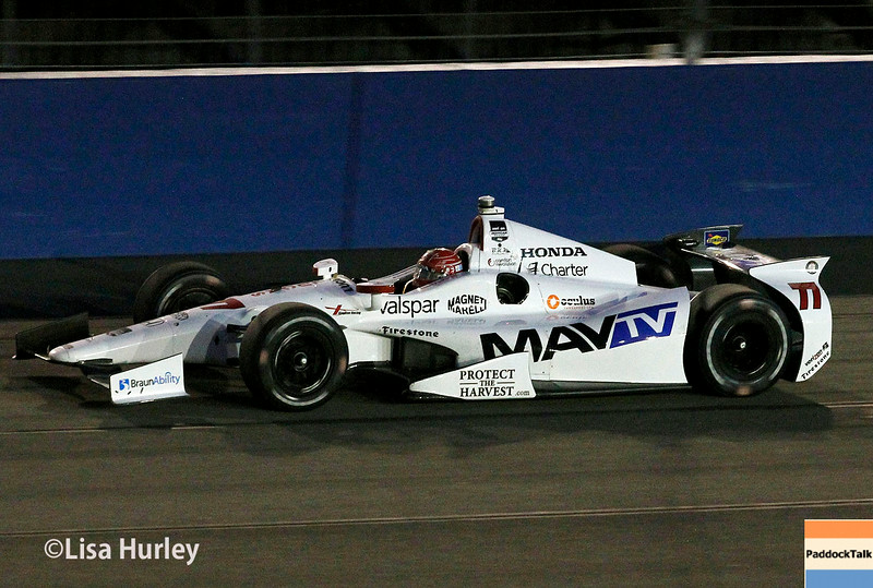 August 30:  Simon Pagenaud during the MAVTV 500 race at Auto Club Speedway.