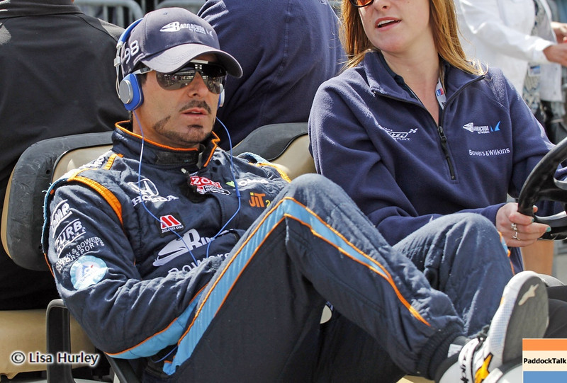 May 24: Alex Tagliani during Carburetion Day before the 97th Indianapolis 500 at the Indianapolis Motor Speedway